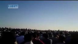 يوميات الثورة السورية-زفاف الشهداء 18-6