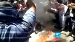 خطاب المجرم  بشار الأسد يثير غضب الشارع السوري