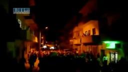 سوريا - ادلب - مظاهرة مسائية ليلة نصرة اللاجئين 21-6 ج2