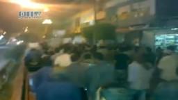 سوريا - سقبا و حمورية - مظاهرة مسائية للتنديد بالخطاب 21-6 ج2