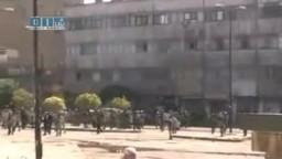 الثورة السورية-- مواجهات بين المتظاهرين والأمن
