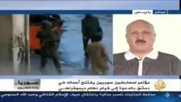 الجزيرة  وائل حافظ في حديثه إلى الجزيرة منتصف يوم 27