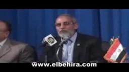 لقاء فضيلة المرشد بالاخوان بمجمع دمنهور الثقافى
