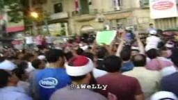 جنازة أحدث شهداء ثورة 25 يناير الشهيد محمود خالد قطب