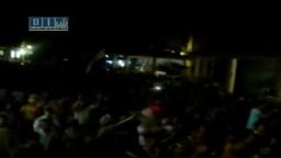 سوريا- حماه - مسائية أبطال العاصي  وهتافات لإسقاط النظام - شارع 8 آذار 29-6