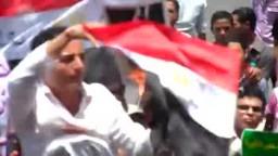 ميدان التحرير --حرق صورة مبارك في ميدان التحرير   في جمعة القصاص  1-7