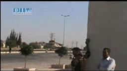 سوريا- حماة - إطلاق نار مباشر على المتظاهرين 5-7-2011