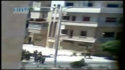 سوريا - حماه - الامن والشبيحة في شوارع حماه 5-7