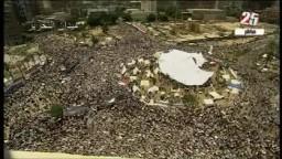 جمعة الثورة أولاً-مشهد كامل لميدان التحرير 8-7-2011