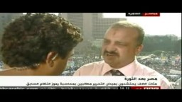 7/8  د/ البلتاجى ينفى وجود أى تعارض بين الإخوان وثوار جمعة الإصرار