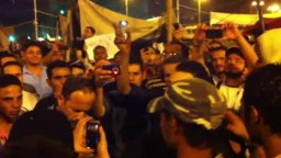 هتافات الثوار بميدان التحرير مساء يوم 8 يوليو جمعة الثورة أولاً