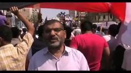 الاستاذ سعد خليفة مسؤل المكتب الإدارى للإخوان المسلمين فى السويس فى جمعة الثورة اولاً