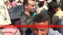 المتظاهرون ينادون بمحاكمة 25 متهم فى جمعة 8 يوليو