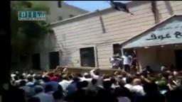 سوريا - حمص - زفاف الشهيد نور الدين الكحيل جامع عوف 16-7 ج2