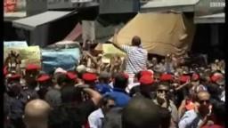 الأردن اشتباكات بين قوات الأمن والمتظاهرين في عمان