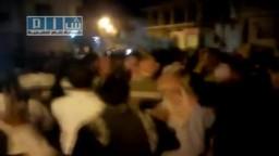 قارة - القلمون - مسائية جمعة اسرى الحرية بسوريا .. ارحل يابشار