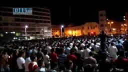 7-17سوريا - حماة - الثوار يصلون العشاء و دعاء رهيب