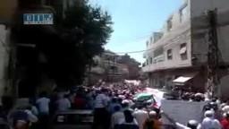 سوريا - حمص - بستان الديوان - جمعة أسرى الحرية