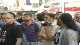 مواجهات بين االشرطة ومحتجين لفض اعتصام في تونس