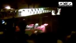 حريق في مبنى المجالس المحلية والوطنى المنحل - دمياط