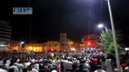 سوريا - حماه - ساحة العاصي و يسقط بشار الأسد 18-7