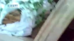 سوريا _ حمص - جامع المريجة  الشهداء الثلاثة في المسجد20 / 7