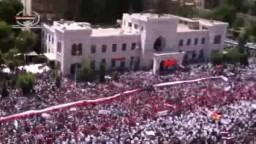 الفيديو الأبرز فى جمعة أحفاد خالد اليوم من ساحة العاصى بحماه - سوريا