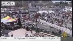 هتافات ميدان التحرير في جمعة الحسم 22/7/2011