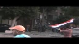 دفعات رصاص في الهواء واشتباكات عنيفة - العباسية 23 يوليو
