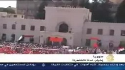 الجزيرة  / تقرير ناصر آيت طاهر حصاد يوم 23 فى سوريا