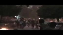 مشاهد من احداث العباسية 23/7/2011