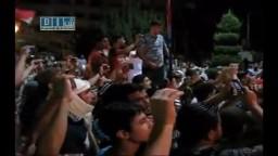 حماه - الثوار يحيون القنوات الشريفة بمسائية 24-7