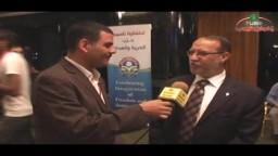 لقاء مع الدكتور عصام العريان على هامش احتفالية تأسيس حزب الحرية والعدالة