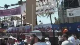 هتافات حماسية لشباب الإخوان في جمعة الاستقرار 29/7