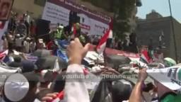 الثوار ينادون بالقصاص للشهداء فى جمعة وحدة الصف