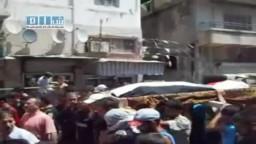 سوريا - اللاذقية - تشييع الشهيد سعيد محمد زهدان 2-8-2011