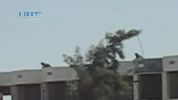 سوريا - نوى - نشر القناصة في المدينة  4 أغسطس