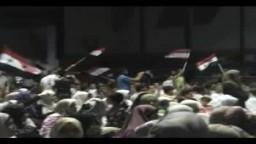 من الجزائر نحن معك يا سوريا - الله معنا 