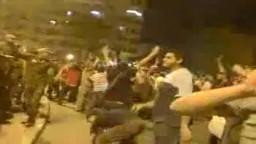 اشتباكات بين المتواجدين في ميدان التحرير وبعض أفراد الجيش- أمس الجمعة 12/8