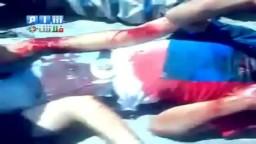 سوريا _ حماة_قتل المدنين بساحة العاصي من قبل الشبيحة +18