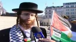 مظاهرة في لندن تضامناً مع القدس والسوريين
