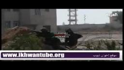 صور ومشاهد  القتال داخل مقر القذافي في باب العزيزية
