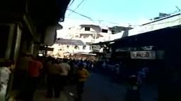 سوريا-- إطلاق النار على المتظاهرين في شارع خورشيد  وإصابة الكثير