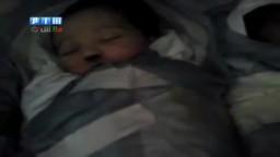 ما ذنب الأطفال الرضع-- مقتل ستة رضع بعد قطع شبيحة الأسد الكهرباء عن المستشفى