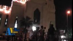 مئات الألاف يؤدون صلاة العيد فى الإسكندرية 2011