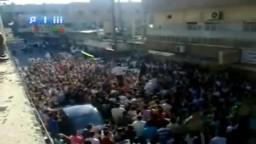 ريف دمشق الكسوة سلاحنا الايمان لا غير  اول ايام العيد