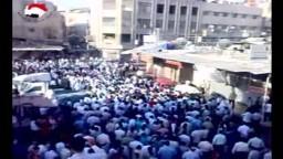 سوريا_ دوما| مظاهرة حاشدة 1شوال عقب صلاة العيد