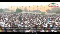 حصرياً.. كاميرا إخوان تيوب ترصد صلاة عيد الفطر بمدينة نصر 2011