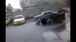 قتل مواطن سوري بطل أمام الكاميرا