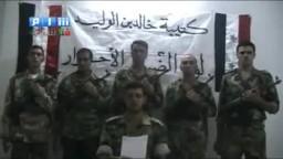 كتيبة الضباط الاحرار وانشقاق الملازم عدي من الجيش السورى